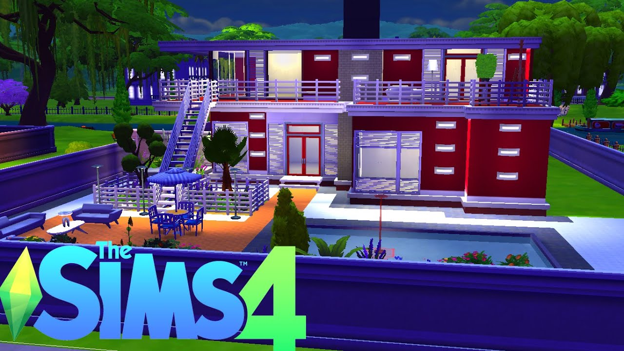 Cara Membuat Rumah Modern Sims
