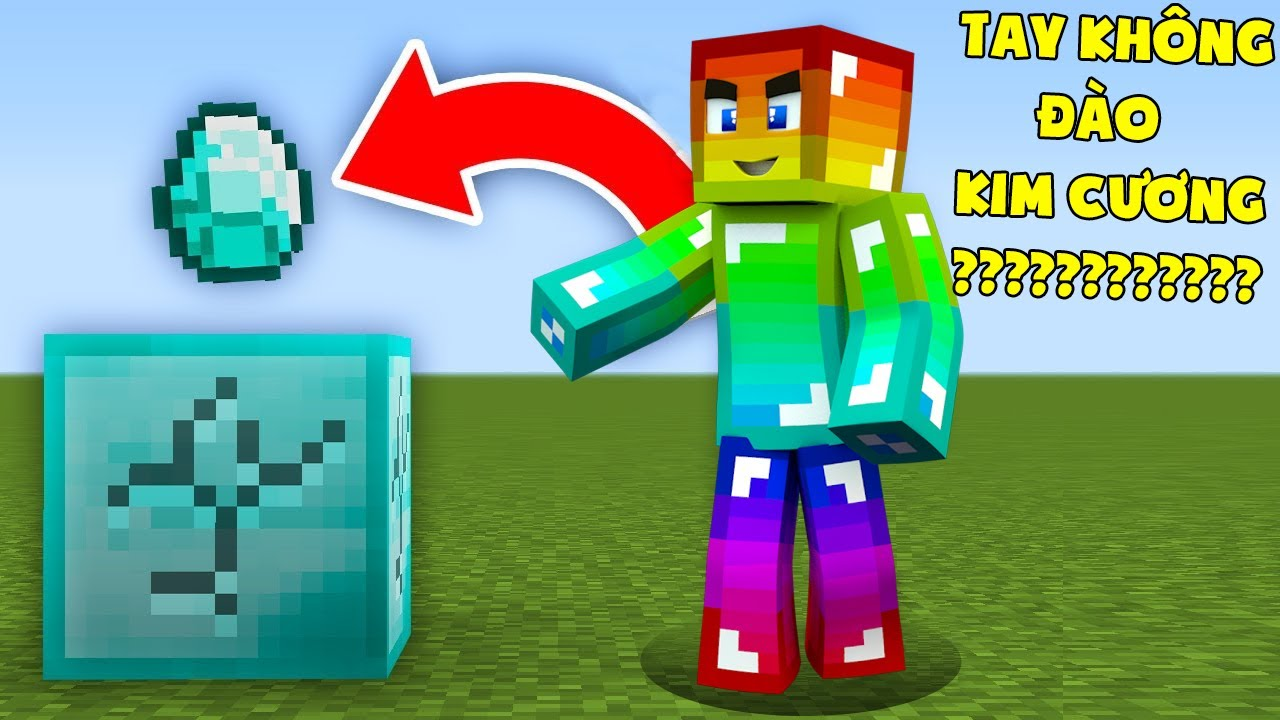Minecraft, Nhưng Sở Hữu Bàn Tay Vip Nhất!
