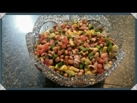 BLACK EYED PEA RECIPE/BLACK EYED PEA SALAD