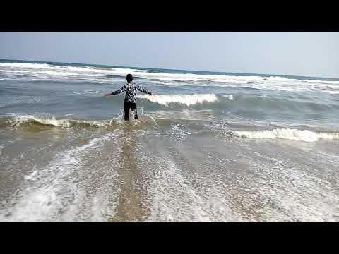 Marine beach in chennai.