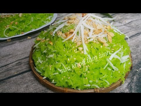 Xôi lá dứa   Cách nấu xôi lá dứa nước cốt dừa theo cách mới khác với truyền thống