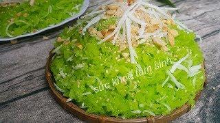 Xôi lá dứa | Cách nấu xôi lá dứa nước cốt dừa theo cách mới khác với truyền thống