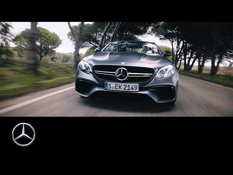 "Mercedes-AMG E 63 S 4MATIC+ – ""Drifting Days Are Here Again"" – Mercedes-Benz original"