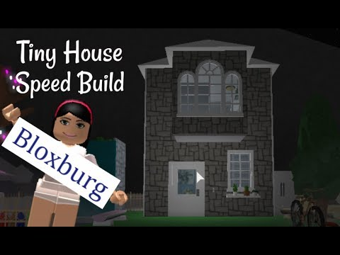 Tiny House Speed Build Bloxburg Youtube