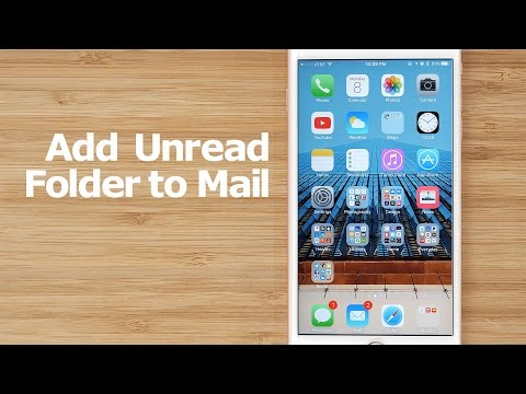 How to Create an 'Unread' Folder in the iOS Mail App