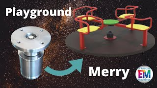 How To Make A Merry Go Round -playground Project