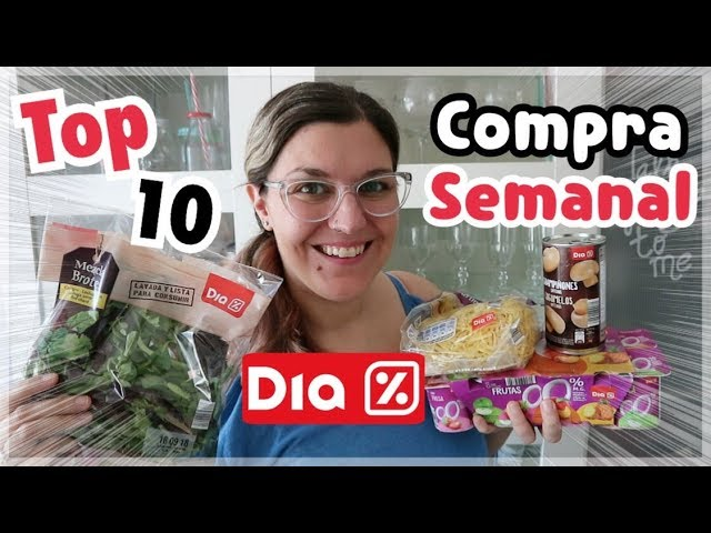COMPRA SEMANAL DIA | Top Ten Productos Favoritos
