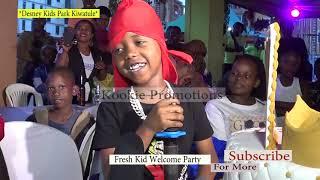 Fresh Kid N'emboozi y' Ennyonyi Nga Genda e' Dubai; BINO BYABADDE Desney Kids Park Kiwatule