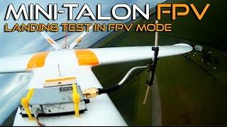 X-uav Mini-Talon FPV - New test with landing gear
