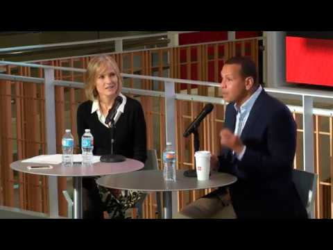 A-Rod Speaks to Students at USC Annenberg