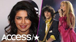 Priyanka Chopra Expertly Chimed In After Nick Jonas Praised Miley Cyrus' Throwback Pics | Access