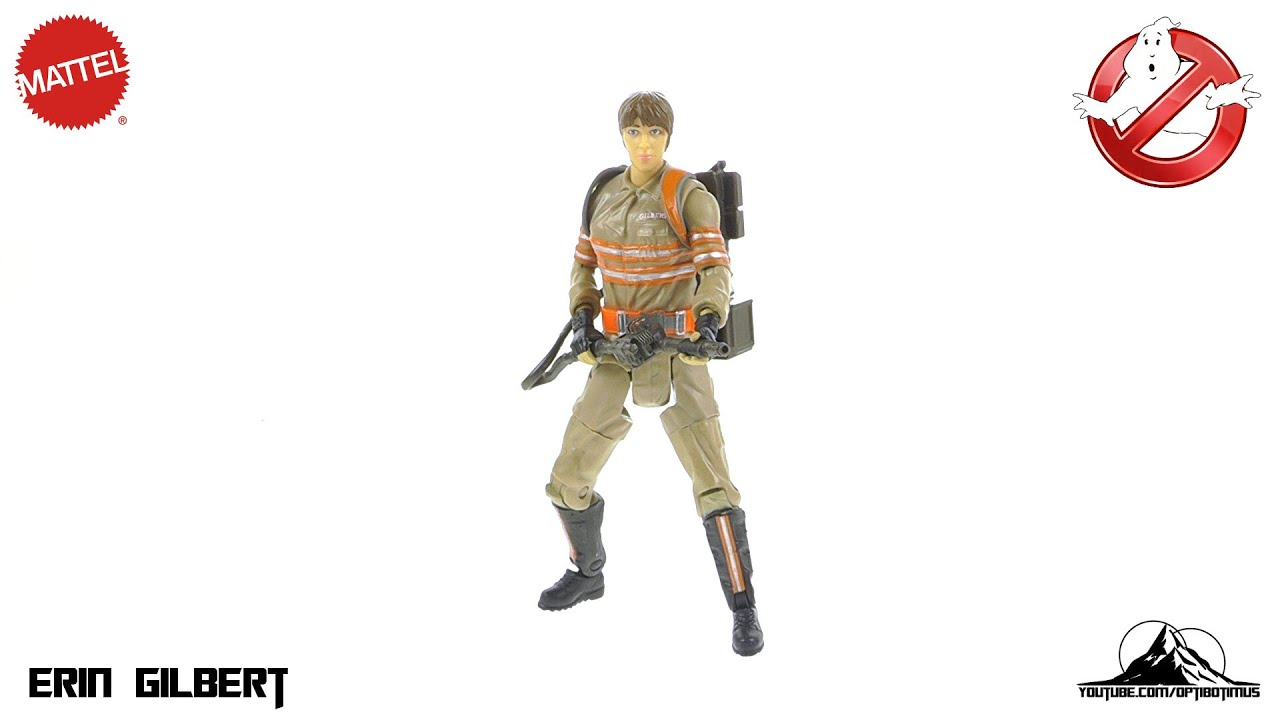 Mattel 2016 Ghostbusters ERIN GILBERT Video Review