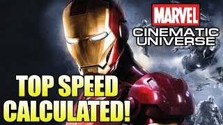 How Fast is the MCU Iron Man? (Mk II-IV)