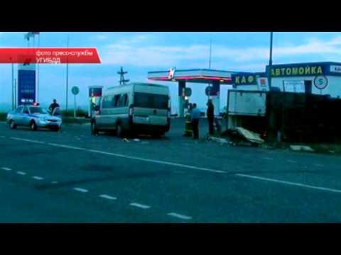 Авария в Малмыже 18.07.13 Место происшествия