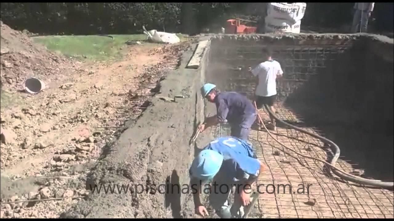 Piscinas latorre construcci n de piscinas de hormig n for Construccion de piscinas de hormigon