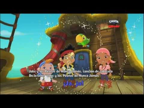 Disney Junior España | Canta con Disney Junior: Jake y los piratas de Nunca Jamás