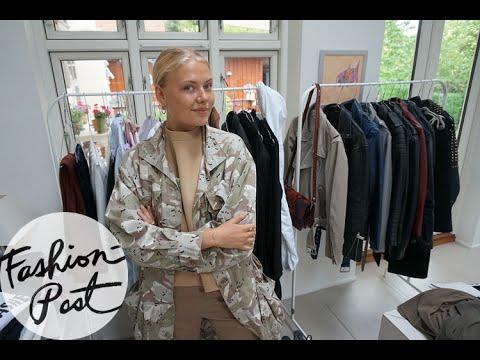 Garderobe-snageren: På besøg hos Freja Wewer (igen!)