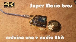 Arduino Audio 8bit Super Mario bros...