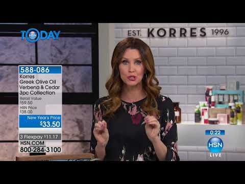 HSN   HSN Today: KORRES Beauty 01.05.2018 - 07 AM