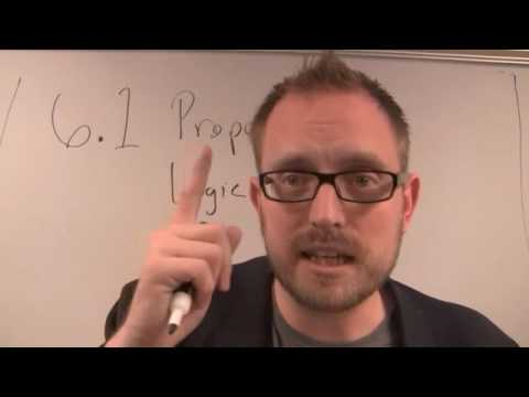 Introduction to Propositional Logic Part 1 (good quality)