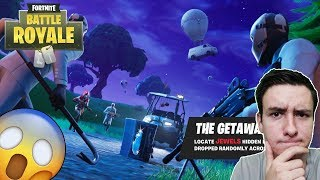 * NEW * THE GETAWAY GAME MODE WITH VIEWERS! -Fortnite Battle Royale #143