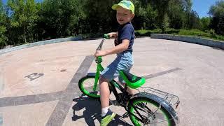 Обучение езде на велосипеде. Симферополь.