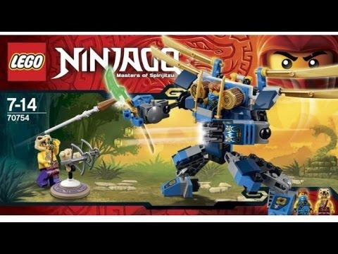 LEGO NINJAGO JAY'S ELECTRO MECH 2015 SET IMAGES (HD)!!!