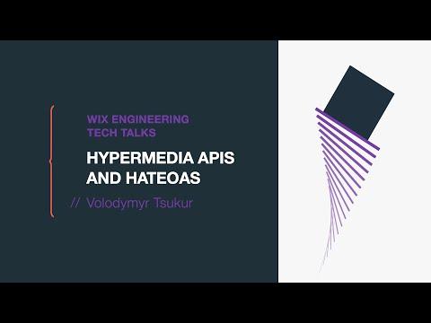 Hypermedia APIs and HATEOAS - Volodymyr Tsukur