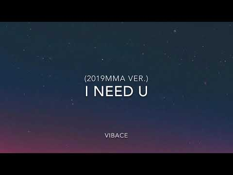 BTS(방탄소년단) - I Need U Cover (2019 MMA Ver.)