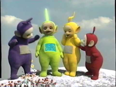 happy christmas from the teletubbies 1998 dvd