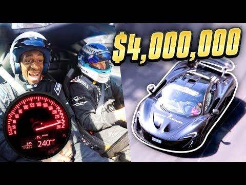 GOING 250KMPH IN A $4,000,000 CAR!!!