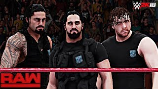 WWE 2K18 - The Shield Official Entrance!