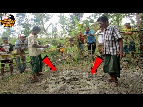 Tanah Bergoyang2 Mengeluarkan Aroma Wangi Gegerkan Warga Lombok!! Saat Diperiksa Ternyata....