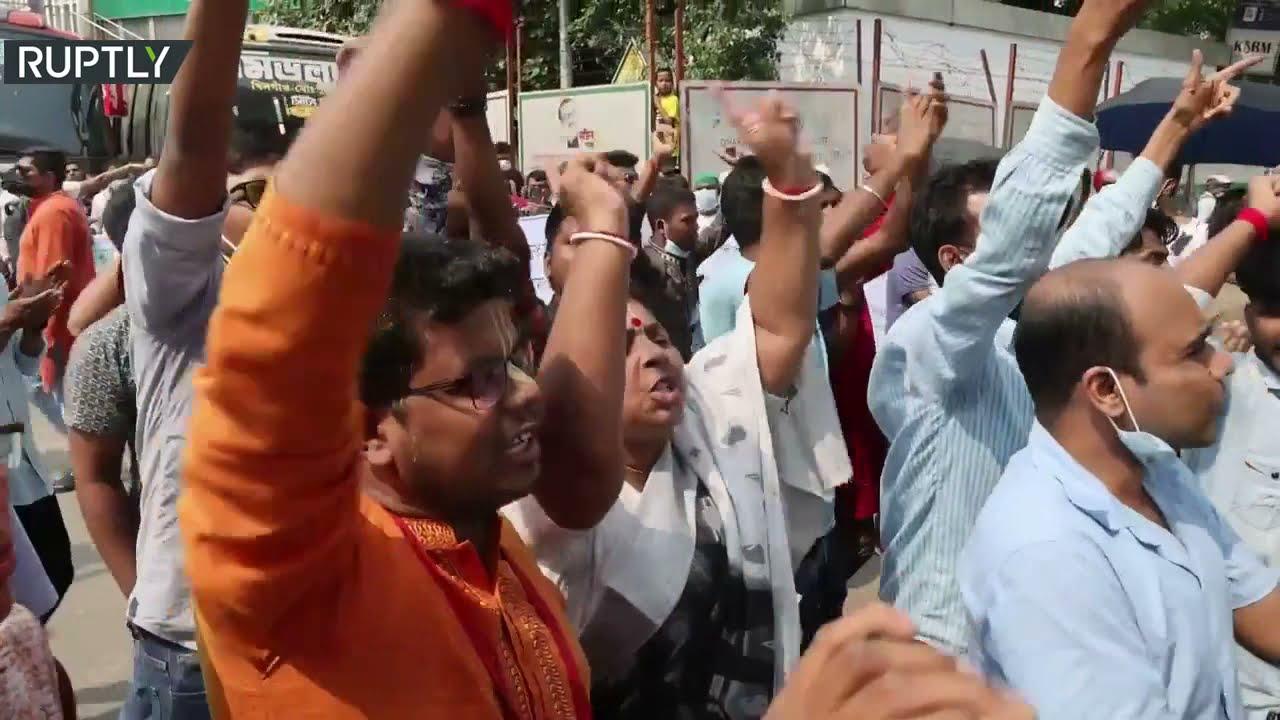 بنغلادش.. مظاهرات حاشدة احتجاجا على الهجمات التي تستهدف الهندوس  - نشر قبل 23 ساعة