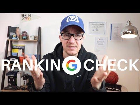 RANKING CHECK: Mit einem Google RANKING CHECKER Chancen für SEO erkennen — SEO-Driven #201