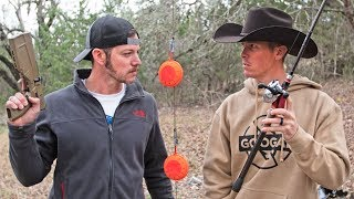 DEMO RANCH CHALLENGE DUEL! (Pistol vs Fishing Rod)