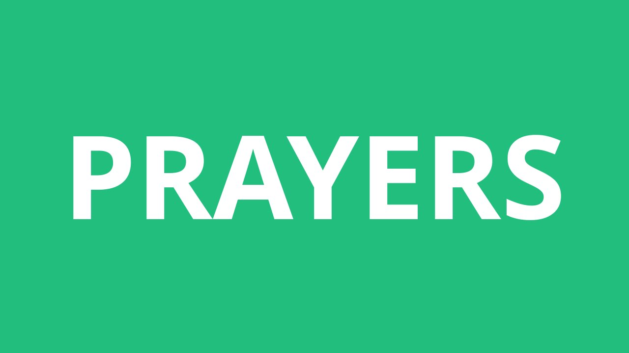 How To Pronounce Prayers - Pronunciation Academy