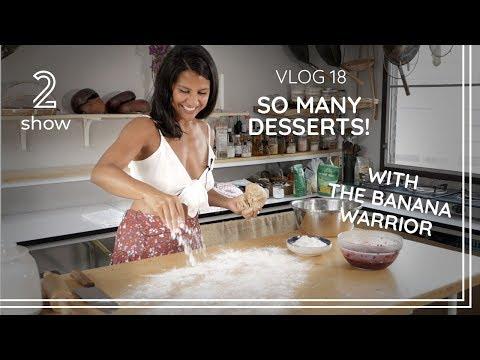 So many tasty vegan desserts…! – Vlog 18