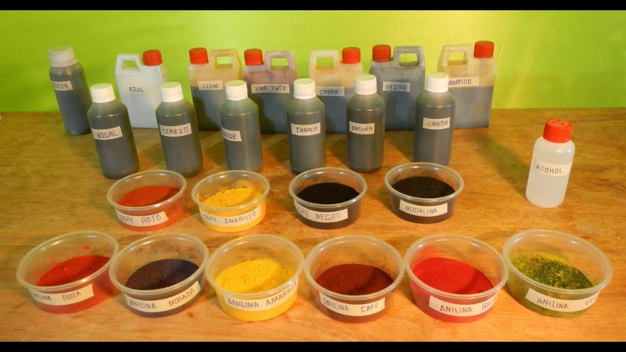 Que son los tintes de madera como se usan tipos de - Barniz para madera colores ...