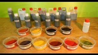 Que Son Los TINTES DE MADERA - Como Se Usan - tipos De Tintes -  Luis Lovon