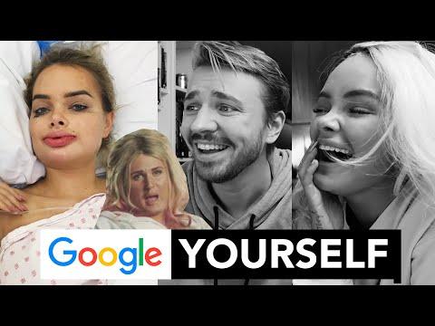 Vi finner de sykeste bildene av oss på Google!!