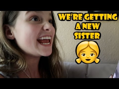 Thumbnail: We're Getting a New Sister!!! 👧 (WK 335.6) | Bratayley
