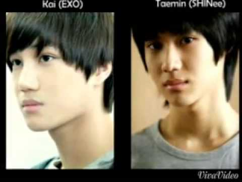 Male Kpop Idols That Look Alike - YouTube