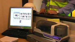 ID card based Access Control prefabricated unit