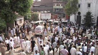 Pakistan: Blutbad vor einer Kirche