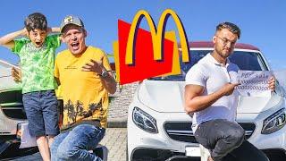 Jason buy food after Ride on Car breaks down