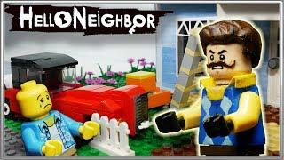 LEGO Мультфильм Привет Сосед / LEGO Stop Motion He...