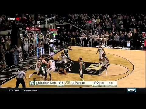Michigan State at Purdue - Men's Basketball Highlights