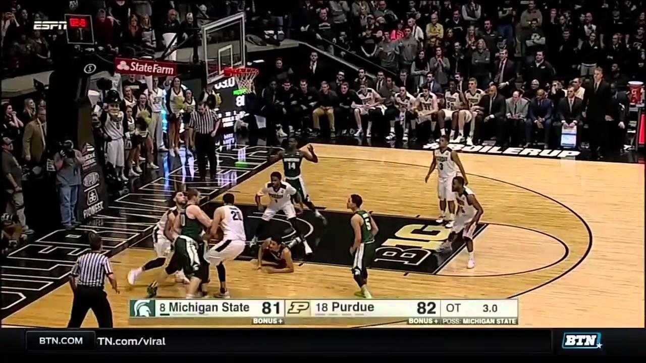 Michigan State at Purdue - Men's Basketball Highlights ...