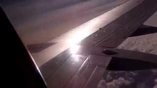 Полет над облаками, вид из окна самолета(, 2015-07-21T17:18:45.000Z)